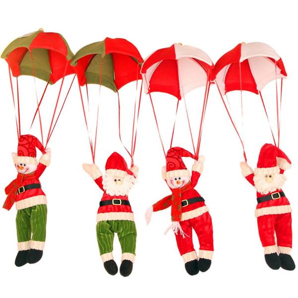 Santa à venir à la maison de Noël décorations de plafond Père Noël suspendu pendentif de Noël décoration de Noël fournitures