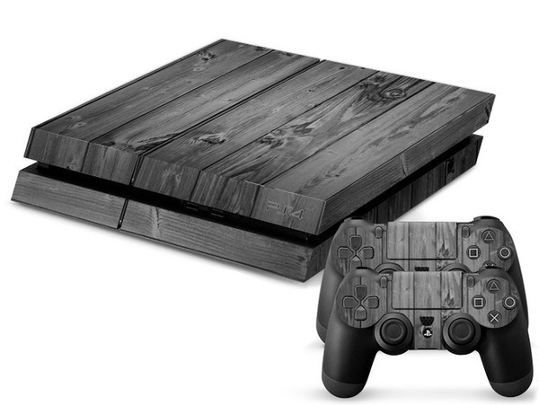 2019 Gray Wood Grain PS4 Games Skin Decals Vinyl Wrap Stickers Protector  For PlayStation 4 Console & Controller Skins For Free From Colorfultech,