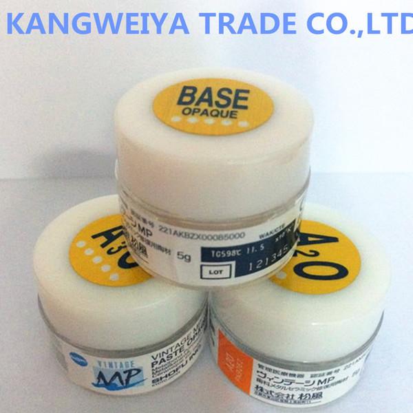 top popular SHOFU VINTAGE MP Opaque paste BASE A1O A2O A3.5O A4O...etc 5g Free shipping 2021