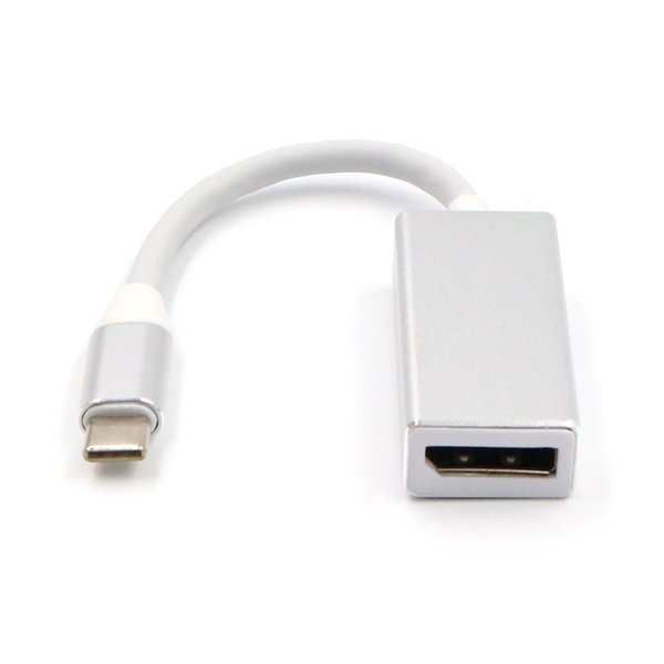 USB 3.1 Type C Male to DisplayPort DP Female Converter Cable 4K HDTV Digital Adapter Cable Use for Laptop Mobile Phone