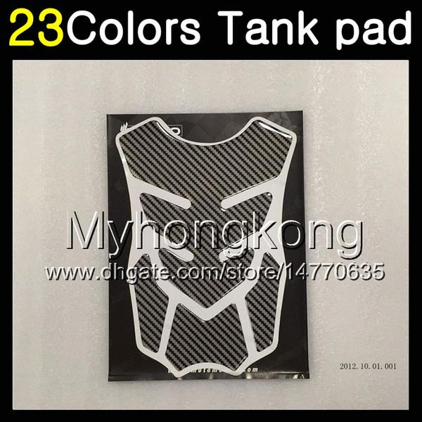 23Colors 3D Carbon Fiber Gas Tank Pad Protector For HONDA CBR400RR NC29 CBR400 RR CBR 400 RR 90 91 92 93 94 1990 91 1994 3D Tank Cap Sticker