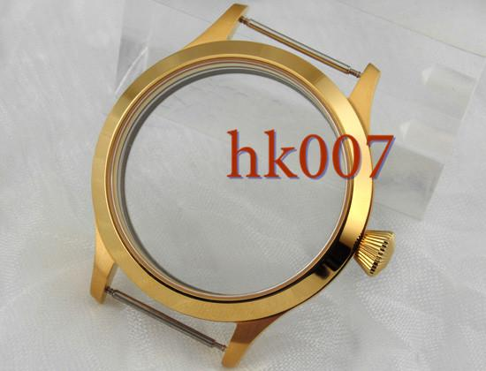 top popular P401 Sterile 45mm Sapphire 316L case fit 6497 6498 Seagull ST36 movement WATCH 2021