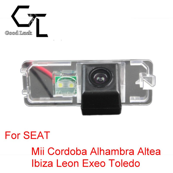 For SEAT Mii Cordoba Alhambra Altea Ibiza Leon Exeo Toledo Wireless Car Auto Reverse CCD HD Rear View Camera Parking Assistance