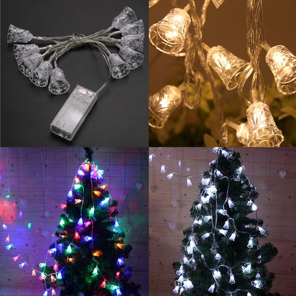 Multicolor 20/30/40/50/80 LED Fairy String Lights Battery Operated