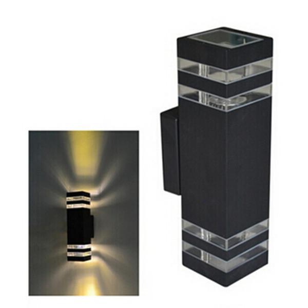 1 pz 10 W Impermeabile HA CONDOTTO LA Luce di Parete Corridoio Riparo Applique Apparecchio Decor esterno IP65 su e giù Lampada Da Parete lamparas HA CONDOTTO LA lampada AC85-265 V