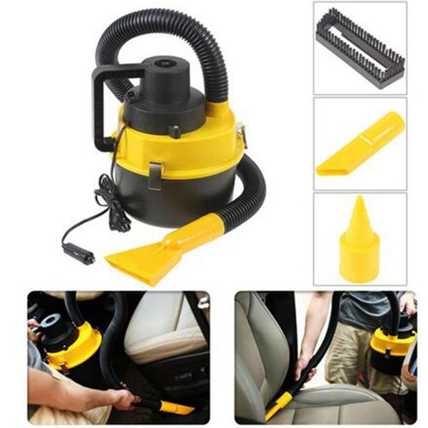best selling Wholesale- Likebuying Dc12V High Power Wet And Dry Portable Handheld Car Vacuum Cleaner Washer Car Mini Dust Vacuum Cleaner