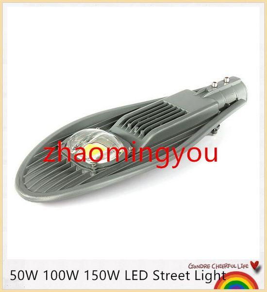 YON 10pcs Best Price High Quality 50W 100W 150W LED Street Light AC85-265V Outdoor Lighting Garden Lamp Warm White/White