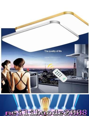 Ayarlanabilir Tavan Işık Kare LED Tavan Işık Moda Droplight Avize iPhone şekli Tavan Lambası çok boyutu seçimi MYY