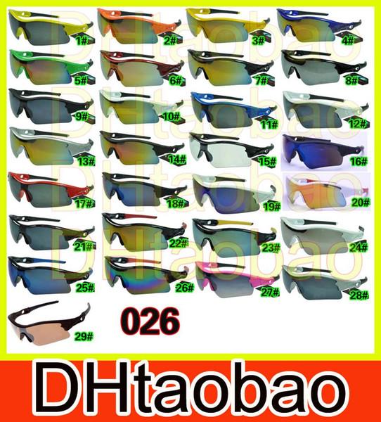 Mannsportschauspiele Fahrradglas-Sonnenbrille PINK im Freien, die Sonnenbrilleart und weise färbt, blendet Farbspiegel A +++ 29colors freies Verschiffen