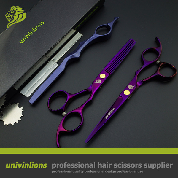 Wholesal 6 inch hot professional salon hair scissors hairdresser scissor hair cutting scissors thinning shears barber haircut tijeras