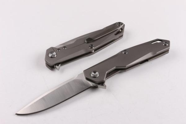Sky wing TC4 Titanium D2 60HRC Tactical Jagdmesser Multi-Tools Tasche Überleben Fixed Knives Geschenk Messer 1pcs