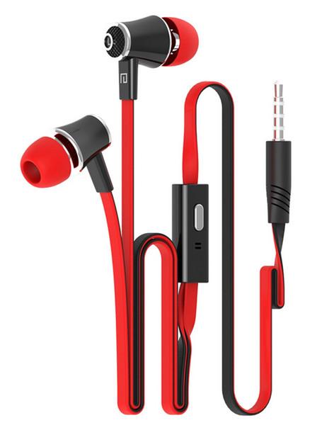 Grosses soldes!!! Original Langsdom JM21 In-Ear 3.5 MM Jack Stéréo Basse Écouteurs Casque Avec MIC Pour Téléphone Mobile MP3 MP4