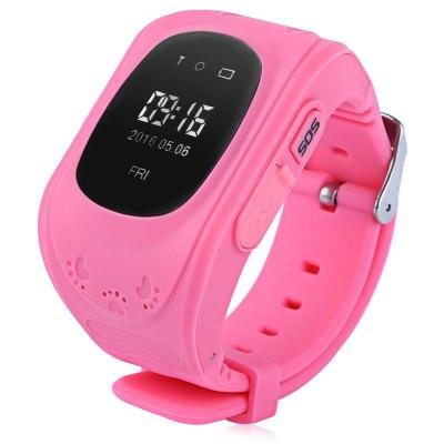 2016 Q50 0.96inch LCD screen Children Safety Monitoring Portable GPS Smart Watch Telephone with SOS