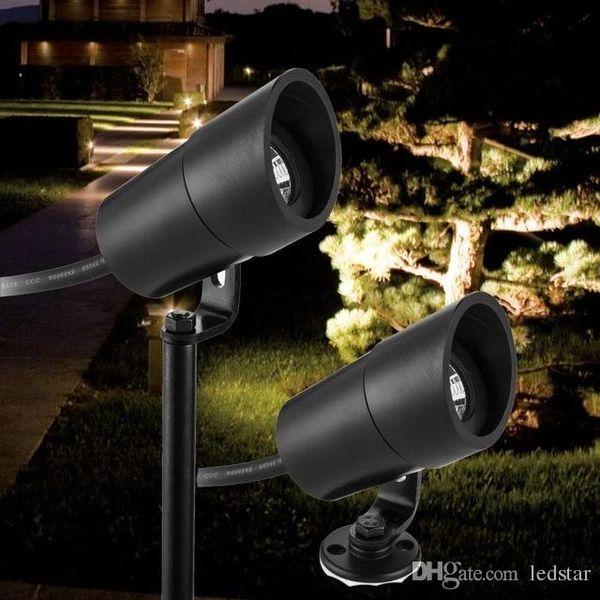 LED Garden Lampade da giardino Light 12V 3W COB IP67 Impermeabile Outdoor Spot da giardino Spot Light LED Lampada prato Prikspot tuinspot Illuminazione paesaggistica