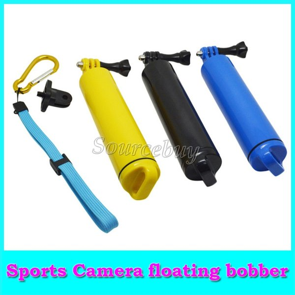 New Accessories For Gopro Hand Grip Handheld Floating Bobber Monopod Mount For Gopro Hero 4 2 3 SJ4000 GP251 3 Colors Free shipping