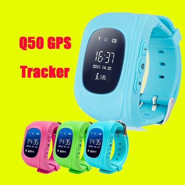 Q50 GPS Tracker für Kind Kind Smart Uhr SOS Safe Call Location Finder Locator Tracker Smartwatch für Kinder Kinder DHL Freies OTH240