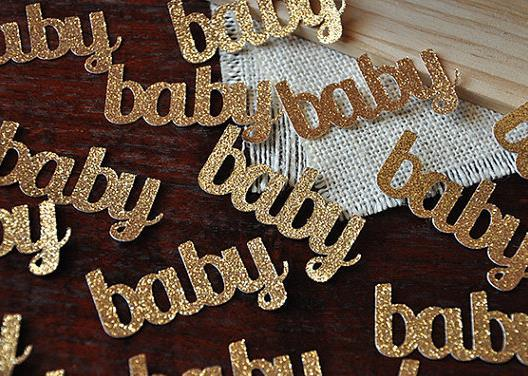 cheap Custom 150pcs glitters Baby confettis wedding table scatters Christmas bridal shower bachelorette party decorations Event