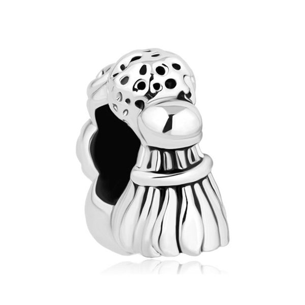 golf Billiard Ball Tennis Badminton Sports Lover Bead metal slider charm European fit Pandora Chamilia Biagi charm bracelet