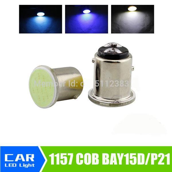 1157 bay15d COB p21/5w led 12SMD Super White 12v bulbs ICE BLUE RV Trailer Truck car styling Light parking Auto Car lamp