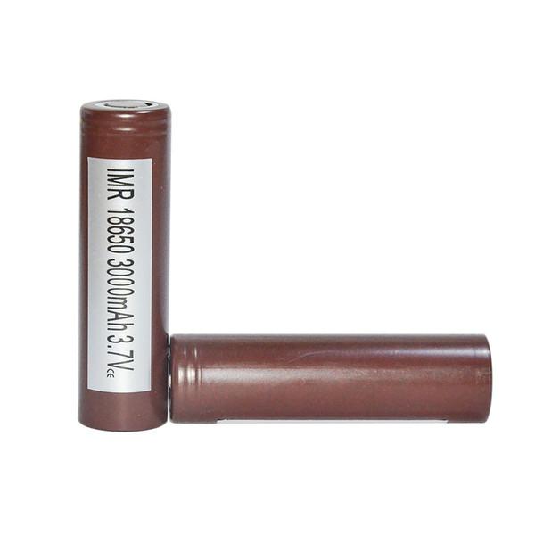 top popular HOT Original HG2 18650 3000mAh Capacity Max 35A High Drain Batteries Rechargable Lithium Battery VS HE2 HE4 Battery Free Shipping 2021