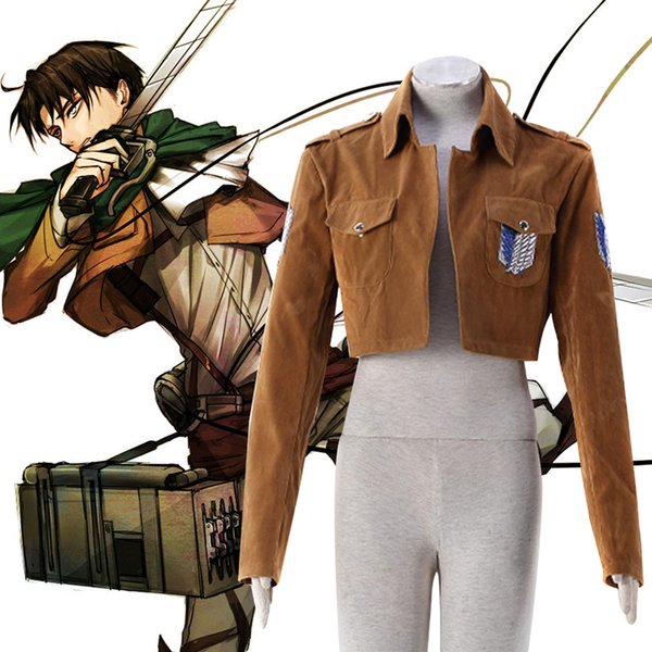 Attack On Titan Cosplay Shingeki No Kyojin Eren Yeager Cosplay Costume Survey Corps Uniform Jacket Custom Size Halloween Cosplay Costume Anime