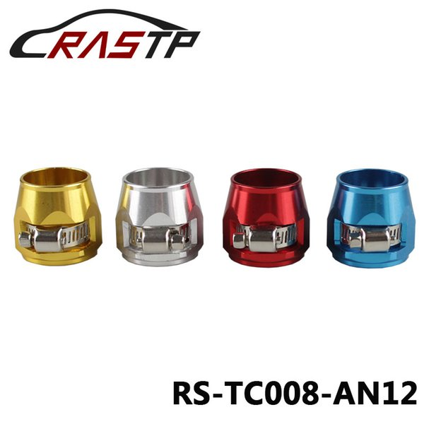RASTP-Hose Clamp 12 AN12 Fuel Oil Water Tube Hose Fittings Finisher Clamps Hex Finishers ID:25mm Have In Stock RS-TC008-AN12