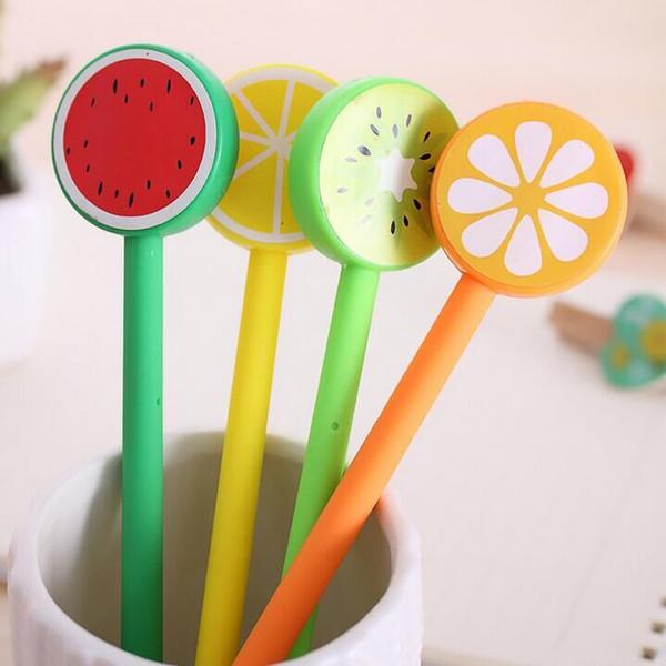 South Korea stationery creative cartoon fruit student prizes office supplies pen Gel pen factory direct
