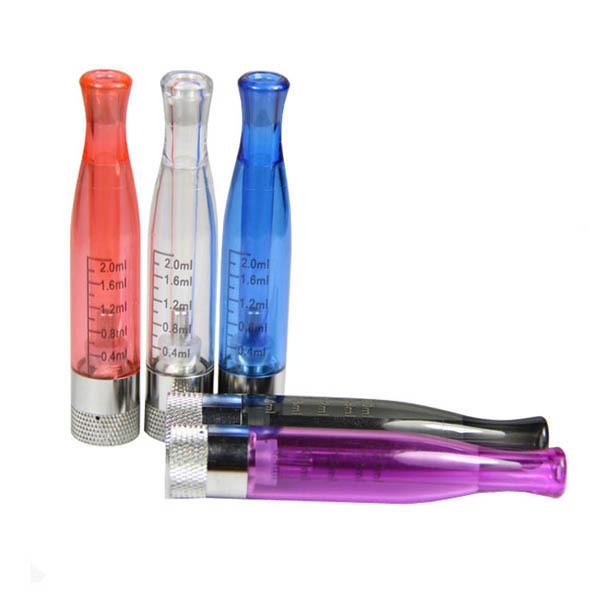 Wholesale top quality GS H2 atomizer ecigs gs h2 2ml clearomizer colorful vaporizer tanks VS CE4 CE5 EVOD Mt3 et-s