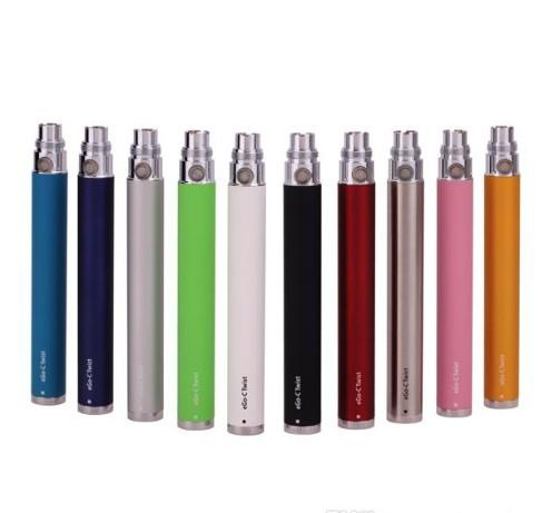 EGO C Twist Battery Vision Spinner Battery Voltaje variable 3.3 ~ 4.8V 650mah 900mah 1100mah EGO T Twist Electronic Cigarette 510 Thread
