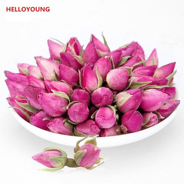 50g Chinese Specialty Herbal Tea Rose Bud High Grade Flowers Tea New Scented Tea Healthy Green Food Promotion