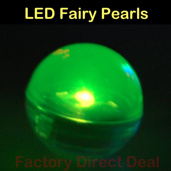 Battery Operated Fairy Pearls Mini LED Light, Multicolor Floating LED Berries Light For Wedding Party Events Decoration 48pcs/ lot