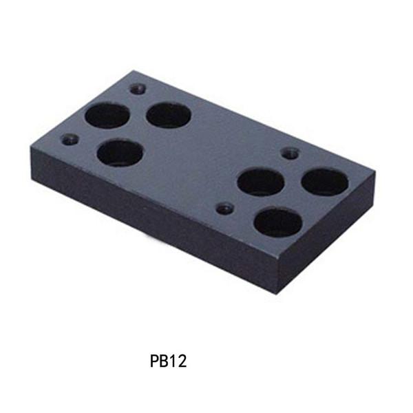 PB12 optik Platform mobil standı optik platformu kayma bloğu bağlantı plakası optik platformu sabit çerçeve sabit blok destek bloğu fixe
