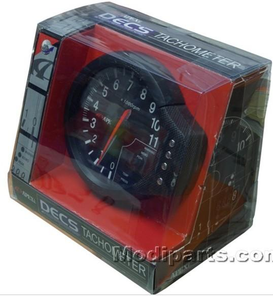 best selling 120MM APEX DECS 3 in 1 Meter ( 3 Functions in 1 Meter:Tachometer RPM   Water Temp Gauge   Oil Press Meter)