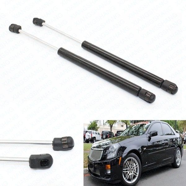 2pcs/set car Auto Front Hood Gas Charged Struts Spring Lift Support For 2003- 2004 2005 2006 2007 Cadillac CTS