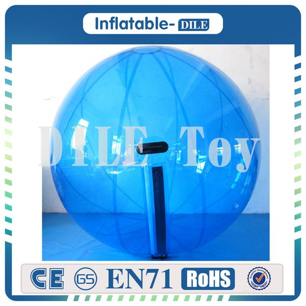 PVC material good quality 2m dia kid adult water walking ball for home rent game play on grassland water snow free shipping