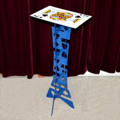 (Blau) -Kartenoberfläche