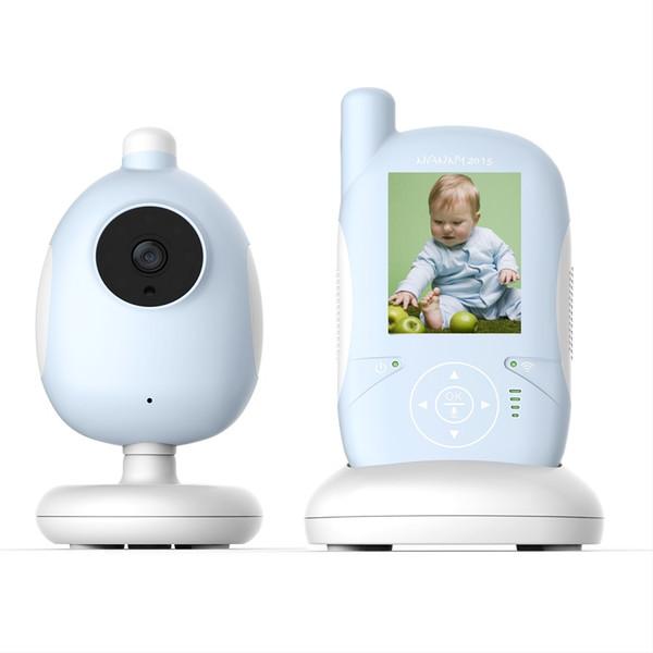 Baby Monitor Babysitter IR Night vision Canções de Ninar Monitor de Temperatura Tecla Tocável Intercom VOX system monitor de bebê Max 4 câmeras