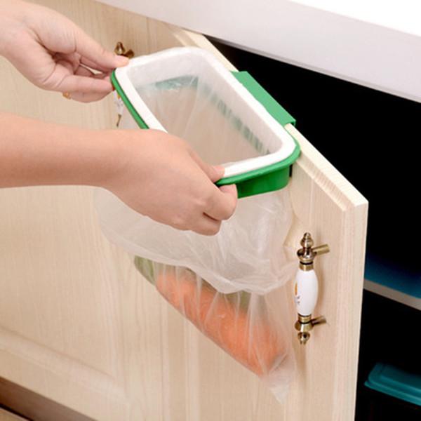 Großhandel Kann Küche Tür Zurück Typ Schrank Mülleimer Halterung Müllsack  Lagerregal Müll Rack Küche Werkzeuge Hängen Von Kconyida666999, $1.3 Auf ...