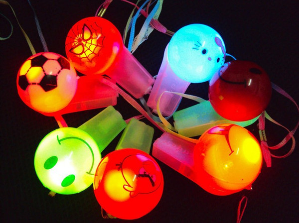 LED whistles goods New Year street vendor selling small toys for children small gifts latest products wholesale