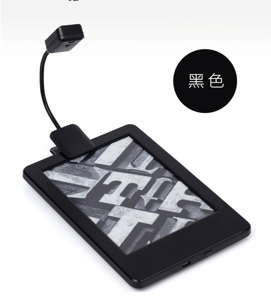 Luxury 1X Booklight Led Ebook Light Mini Flexible Bright clip on Book Reader Reading Desk Lamp Contemporary - Modern reading light Unique