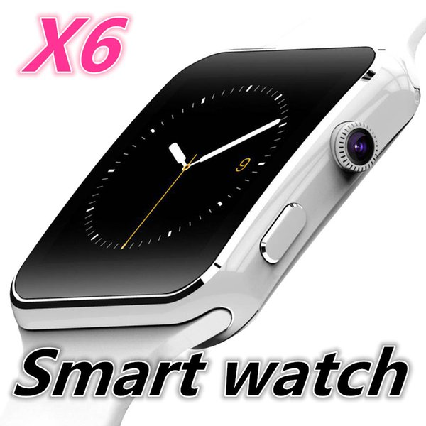 best selling X6 Smart Watch Clock With Sim TF Card Slot Bluetooth suitable for ios Android Phone Smartwatch