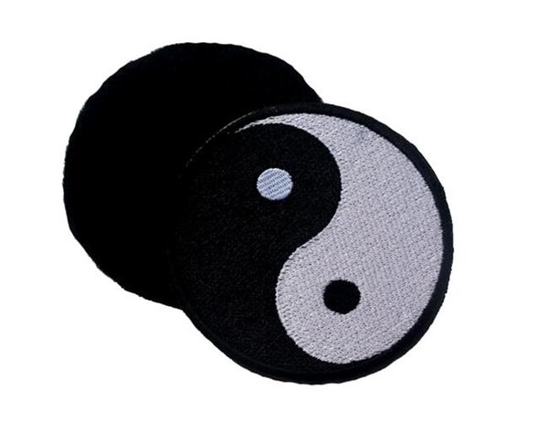 VP-101 Embroidered patch YIN and Yang patches Tactical 3D Patch Combat Badge Fabric Armband Badges sew on patch
