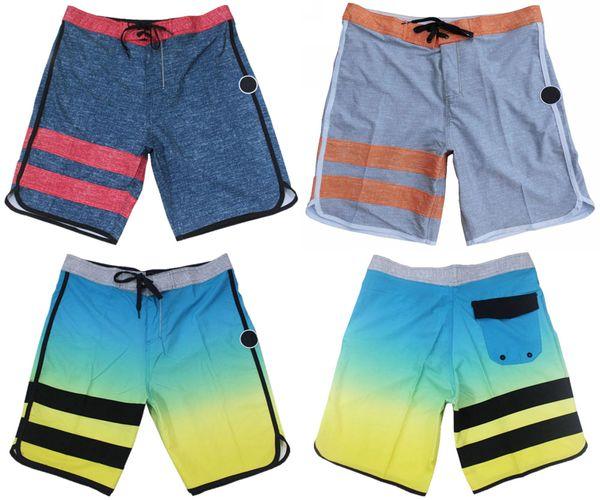 Wholesale-FREE SHIPPING Mens Elastane Spandex Beachshorts Quick Dry Bermudas Shorts Surf Shorts Board Shorts 30/S 32/M 34/L 36/XL 38/XXL