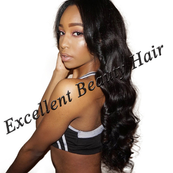 Brazilian Body Wave Full Lace Human Hair Wigs For Black Women With Baby Hair Lace Front Wig Non Remy Free Shipping