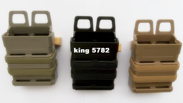 Quick magazine MOLLE The triple gear bag Airsoft fast MAG MOLLE pouch clip / 5.56 mm fast mag M4 magazine pouch holster