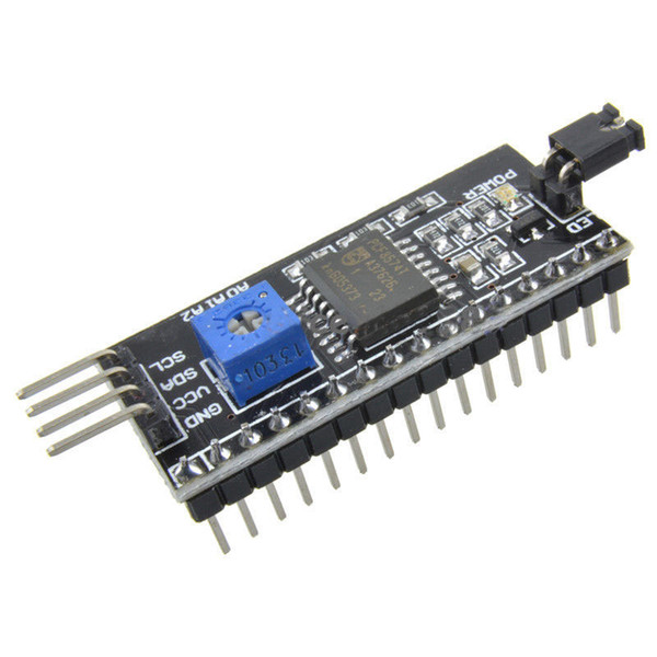 IIC / I2C / TWI Interface Serial Módulo de Placa de Porta Para Arduino 1602 Display LCD B00146 BARD