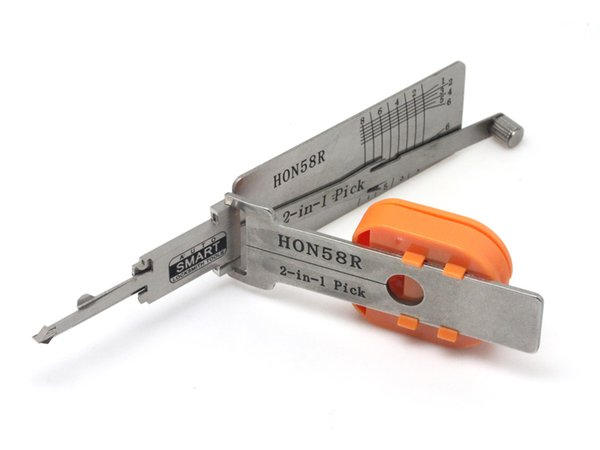 Smart HON58R 2 in 1 decoder and pick tool for Honda locksmith auto lock pick tool