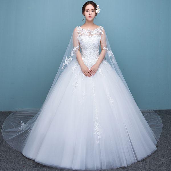 Discount Vestido De Noiva 2016 New Fashion Wedding Dresses The Bride ...