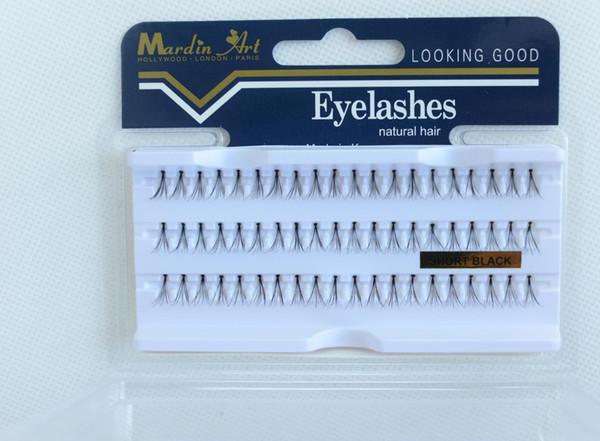 New False Eyelashes Natural Hair Individual Lashes Extensions Permanent Eye Makeup Fake Eyelash Flare Black Reusable Lash 10mm 13mm Free DHL
