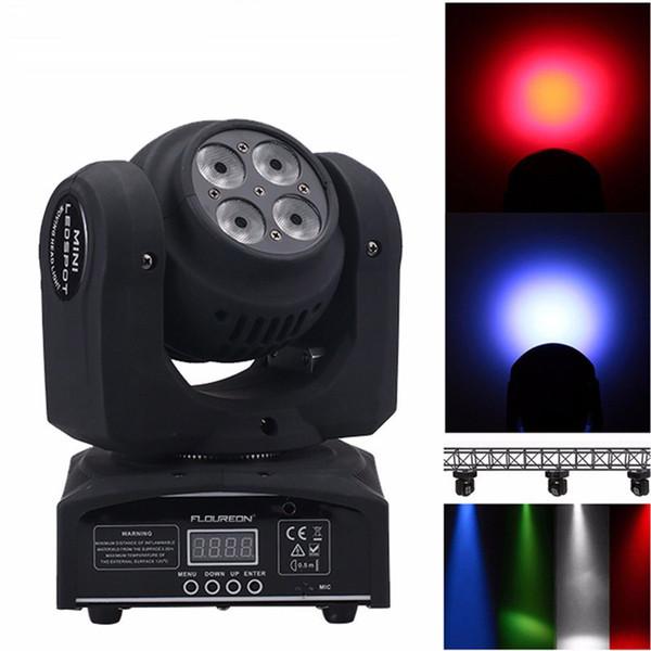 top popular Advanced dj moving head lights led wash mini 15 21CH channels rgbw quad with 8 LED advanced channels 2021